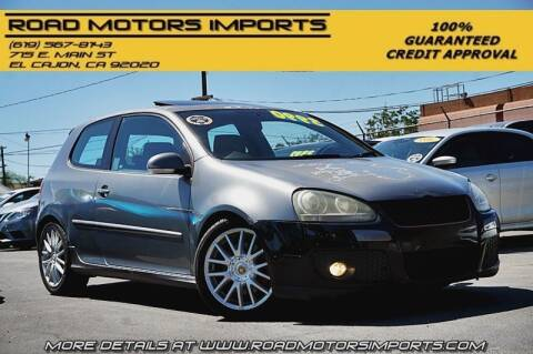 2006 Volkswagen GTI for sale at Road Motors Imports in El Cajon CA