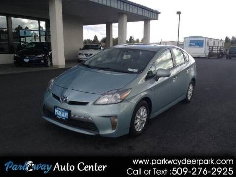 2012 Toyota Prius Plug-in Hybrid for sale at PARKWAY AUTO CENTER AND RV in Deer Park WA
