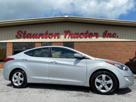 2012 Hyundai Elantra for sale at STAUNTON TRACTOR INC in Staunton VA