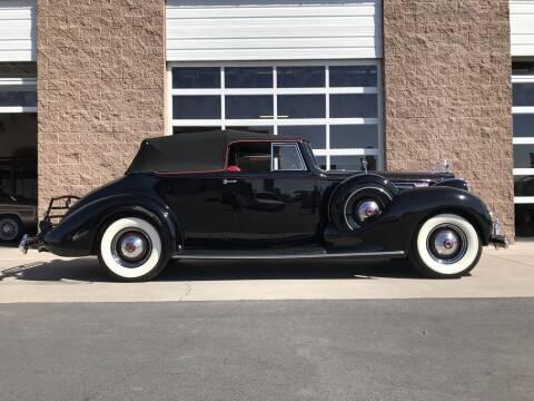 1939 Packard Twelve 1707 Victoria
