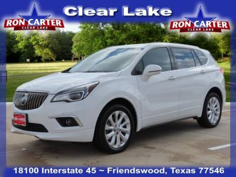 2017 Buick Envision for sale at Ron Carter  Clear Lake Used Cars in Houston TX