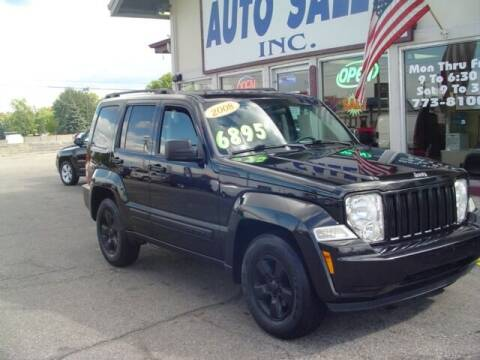 2008 Jeep Liberty for sale at G & L Auto Sales Inc in Roseville MI