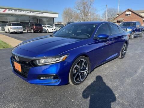 2019 Honda Accord for sale at JC Auto Sales in Belleville IL