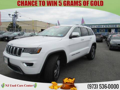 2018 Jeep Grand Cherokee for sale at New Jersey Used Cars Center in Irvington NJ