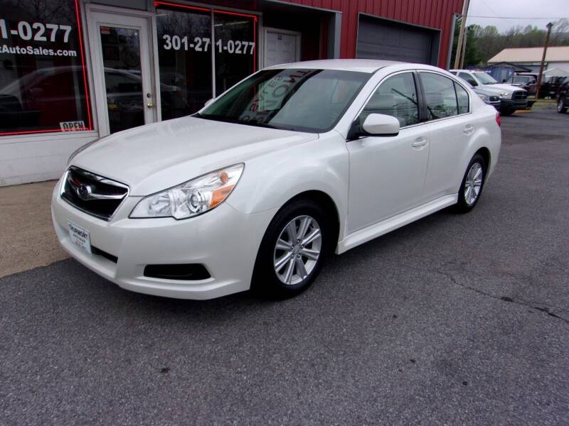 2012 Subaru Legacy for sale at THURMONT AUTO SALES in Thurmont MD