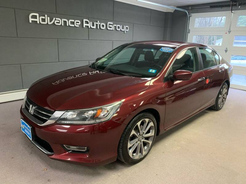 2013 Honda Accord for sale at Advance Auto Group, LLC in Chichester NH