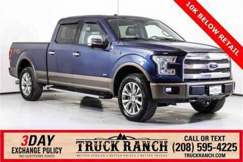 2017 Ford F-150 for sale at Truck Ranch in Twin Falls ID