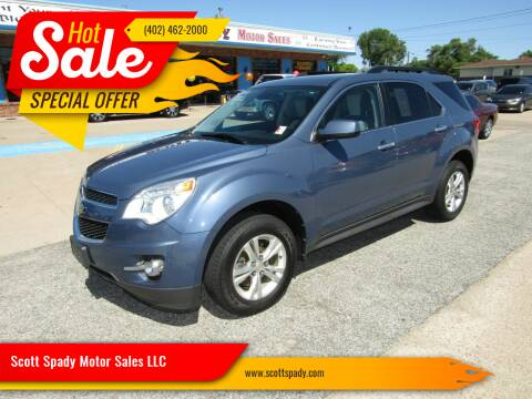 2012 Chevrolet Equinox for sale at Scott Spady Motor Sales LLC in Hastings NE