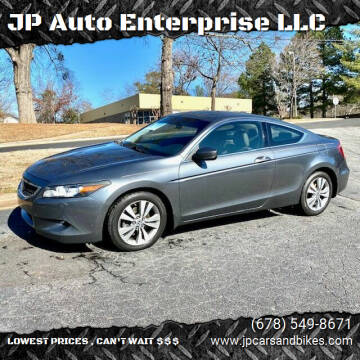 2008 Honda Accord for sale at JP Auto Enterprise LLC in Duluth GA