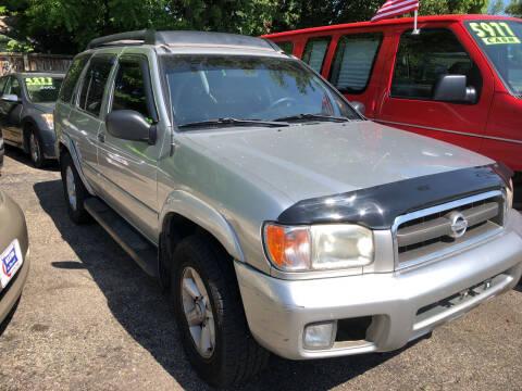 2003 Nissan Pathfinder for sale at Klein on Vine in Cincinnati OH