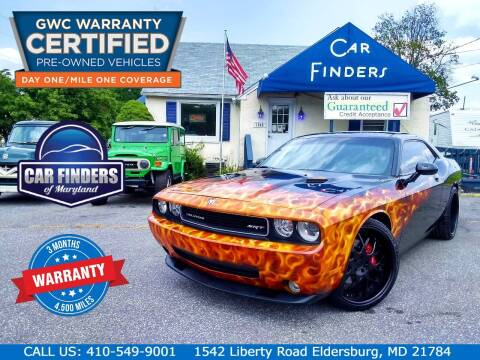 2010 Dodge Challenger for sale at CAR FINDERS OF MARYLAND LLC - Certified Cars in Eldersburg MD