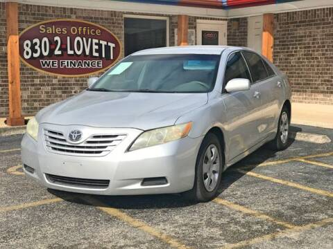 2009 Toyota Camry for sale at RIVERCITYAUTOFINANCE.COM in New Braunfels TX
