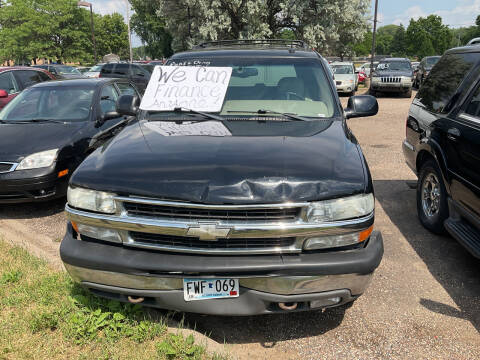 2002 Chevrolet Tahoe for sale at Continental Auto Sales in White Bear Lake MN