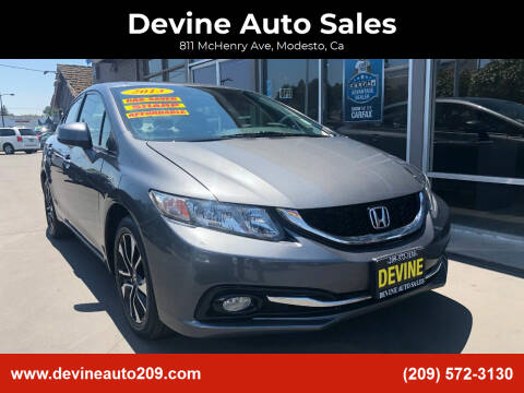 2013 Honda Civic for sale at Devine Auto Sales in Modesto CA