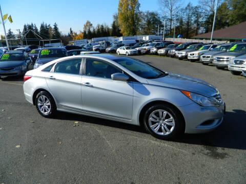 2012 Hyundai Sonata for sale at J & R Motorsports in Lynnwood WA