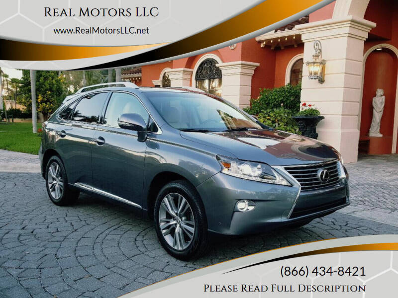 2015 Lexus RX 350 for sale at Real Motors LLC in Clearwater FL