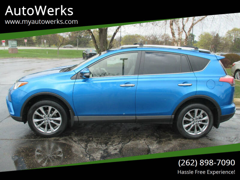 2016 Toyota RAV4 for sale at AutoWerks in Sturtevant WI