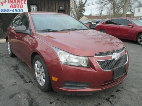 2012 Chevrolet Cruze for sale at EZ Finance Auto in Calumet City IL