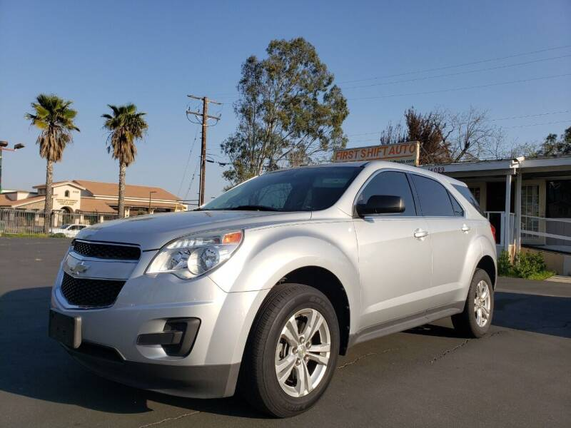 2010 Chevrolet Equinox for sale at First Shift Auto in Ontario CA