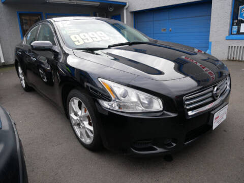 2012 Nissan Maxima for sale at M & R Auto Sales INC. in North Plainfield NJ