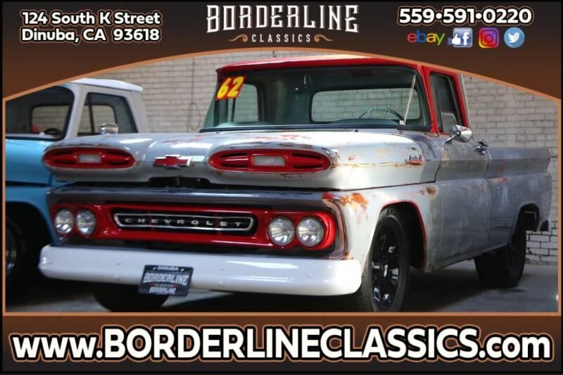 1962 Chevrolet Apache for sale at Borderline Classics in Dinuba CA