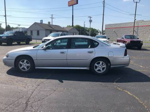 2005 Chevrolet Impala for sale at Lewis Auto World LLC in Brookville OH