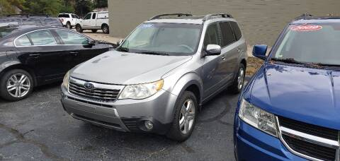 2010 Subaru Forester for sale at Port City Cars in Muskegon MI
