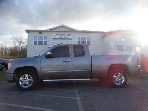 2012 GMC Sierra 1500 for sale at SOUTHERN SELECT AUTO SALES in Medina OH