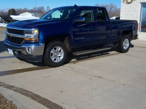 2018 Chevrolet Silverado 1500 for sale at Tyndall Motors - Clearance in Tyndall SD