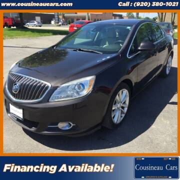 2014 Buick Verano for sale at CousineauCars.com in Appleton WI