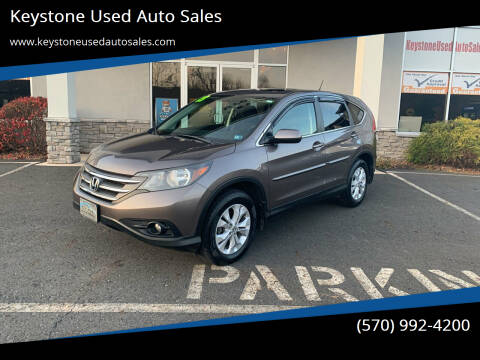 2013 Honda CR-V for sale at Keystone Used Auto Sales in Brodheadsville PA