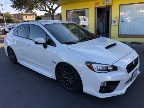 2015 Subaru WRX for sale at EKE Motorsports Inc. in El Cerrito CA