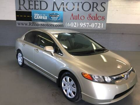 2007 Honda Civic for sale at REED MOTORS LLC in Phoenix AZ