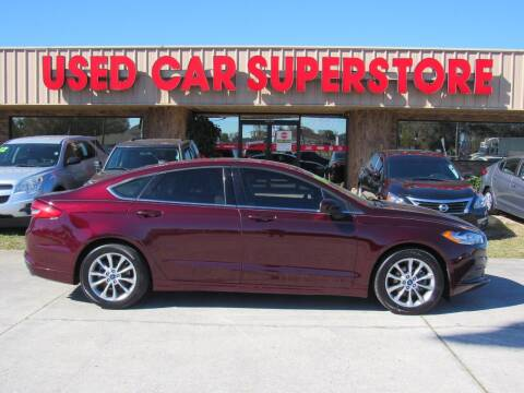 2017 Ford Fusion for sale at Checkered Flag Auto Sales NORTH in Lakeland FL