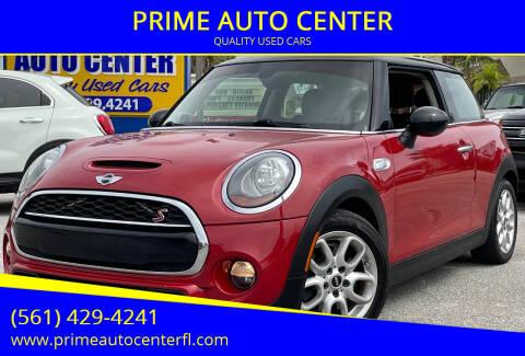 2015 MINI Hardtop 2 Door for sale at PRIME AUTO CENTER in Palm Springs FL