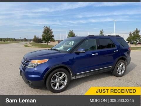 2014 Ford Explorer for sale at Sam Leman CDJRF Morton in Morton IL