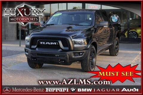 2019 RAM Ram Pickup 1500 Classic for sale at Luxury Motorsports in Phoenix AZ