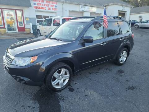 2010 Subaru Forester for sale at Driven Motors in Staunton VA