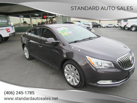 2014 Buick LaCrosse for sale at Standard Auto Sales in Billings MT