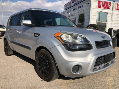 2012 Kia Soul for sale at Eastside Auto Sales in El Paso TX