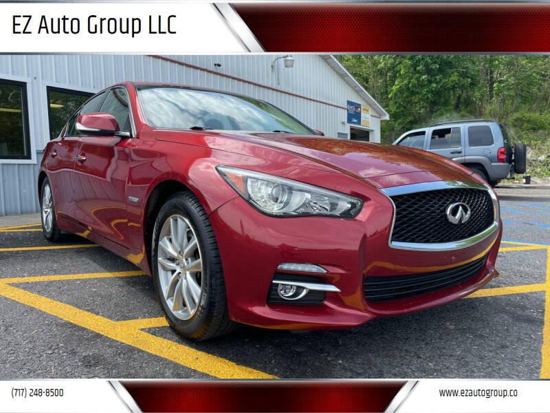 2014 Infiniti Q50 Hybrid for sale at EZ Auto Group LLC in Lewistown PA
