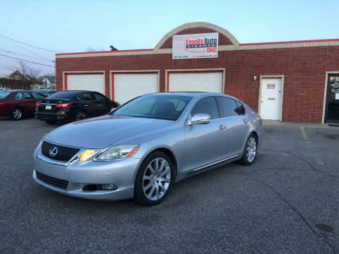 2008 Lexus GS 460 for sale at Family Auto Finance OKC LLC in Oklahoma City OK