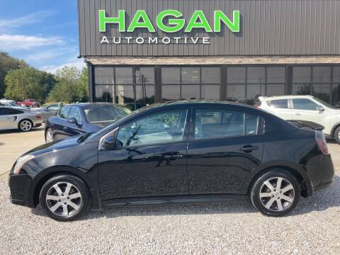 2012 Nissan Sentra for sale at Hagan Automotive in Chatham IL