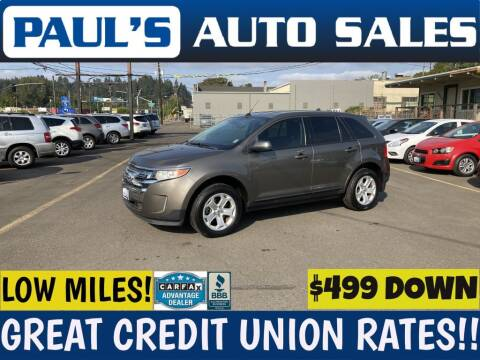 2013 Ford Edge for sale at Paul's Auto Sales in Eugene OR