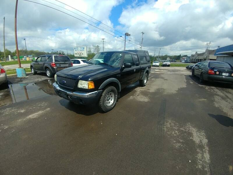 2002 Ford Ranger for sale at RIDE NOW AUTO SALES INC in Medina OH