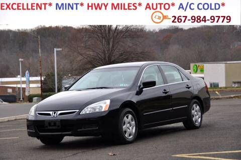 2006 Honda Accord for sale at T CAR CARE INC in Philadelphia PA