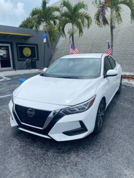 2021 Nissan Sentra for sale at YOUR BEST DRIVE in Oakland Park FL