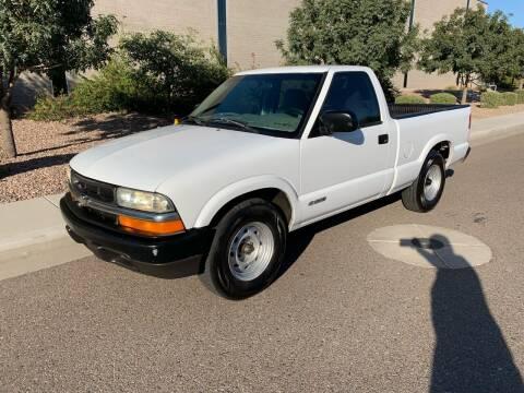 2002 Chevrolet S-10 for sale at Premier Motors AZ in Phoenix AZ