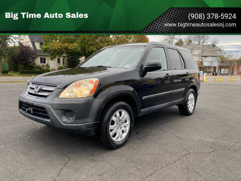 2006 Honda CR-V for sale at Big Time Auto Sales in Vauxhall NJ