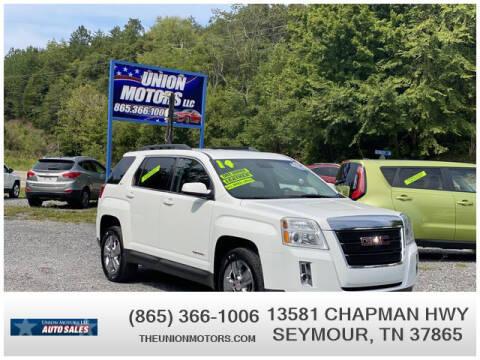2014 GMC Terrain for sale at Union Motors in Seymour TN